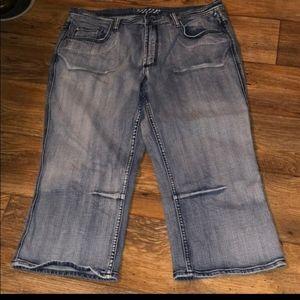 Vigoss plus size 19/20 capris jeans womens